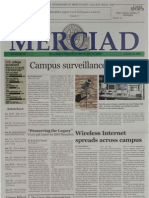 The Merciad, Jan. 23, 2003