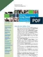 News Bulletin from Greg Hands M.P. #299