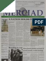 The Merciad, March 20, 2003