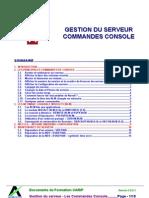 Gestion Du Serveur Commandes_consoles