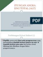 Perhitungan Angka Lempeng Total (Alt)