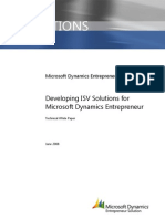 Entrepreneur ISV Introduction - TDM