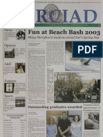 The Merciad, May 15, 2003