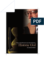 Manual de Procedimentos do Programa História Oral da Justiça Federal