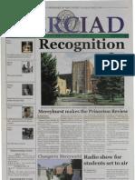 The Merciad, Sept. 17, 2003