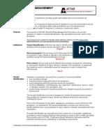 Hazard Risk Management Procedure
