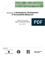 Acessibility Measures