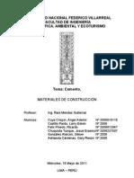Informe - Cemento