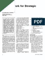 A Framework for Strategic Analysis