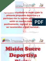 Mision Sucre Deportiva Piritu