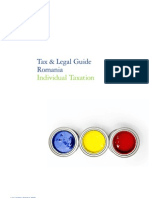 Ro Tax Legal Guide Individual Taxation 113010