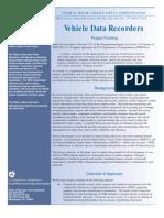 Vehicle Data Recorders