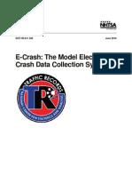 Model Electronic Crash Data