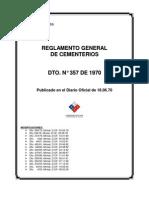 LEY DE CEMENTERIOS