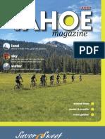 Tahoe Magazine Summer 2011