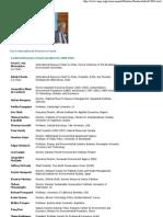 UNEP - International Resource Panel Members & Partners