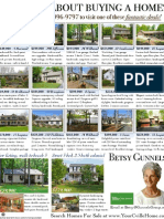 Betsy Gunnels Features Homes For Sale in the Fluvanna Review