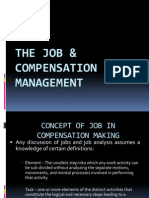 The Job and Compensation Management