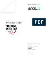 Beyond Red vs Blue the Political Typology