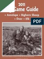 2011 Big Game Guide