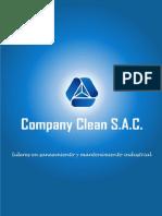 Limpieza y mantenimiento integral de edificios, almacenes y empresas en general  - Company Clean Sac