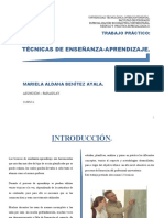 TÉCNICAS DE APRENDIZAJE ENSEÑANZA - t.p.