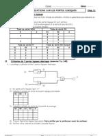 TP16 Applications Portes Logiques