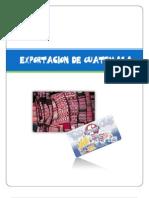 Productos de Exportación de Guatemala