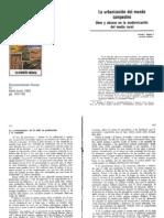 baigorri 1983 la urbanización del mundo campesino documentacion social