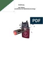 Anleitung zum Bau eines Dynamorücklichtes
