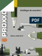 Catalogue Proxxon Micromot Fr