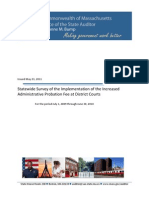 Auditor's Report on Implmentation of Increased Court Fees