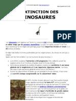 Extinction Des Dinosaures