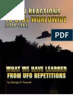 Human Reaction to UFO WorldWide by Col. Fawcett