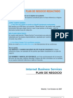 Internet Business Services Plan Negocio