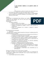 5250 Metodología de revisión relativa a la opinión sobre el control interno contable