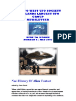 Nazi History of Alien Contact