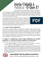 Auditoria Cidadã à Dívida Pública