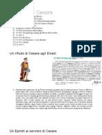 Versioni di Cesare De Bello Gallico e De Bello Civili