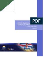 BC Local Areas Economic Dependencies