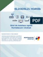 Ghid de Instalare Router HG655b