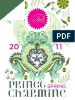 FreeSpirit Fabric - Prince Charming Patterns from Tula Pink - Spring 2011