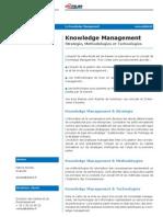 Etude Paribas Knowledge Management