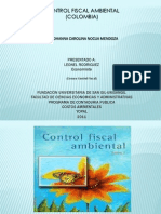 Control Fiscal Ambiental Colombia