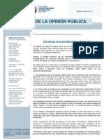 Encuesta Elecciones 2011 27may2011 PUCP