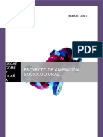 PROYECTO DE ANIMACIÓN SOCIOCULTURAL EN UN CENTRO  RESIDENCIAL