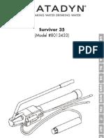 Manual Katadyn Survivor 35 En