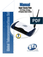 Manual GTS Super Access Point