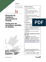Guide Pr Les Travailleurs Qualifies Du Quebec
