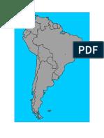 mapa amercia sur